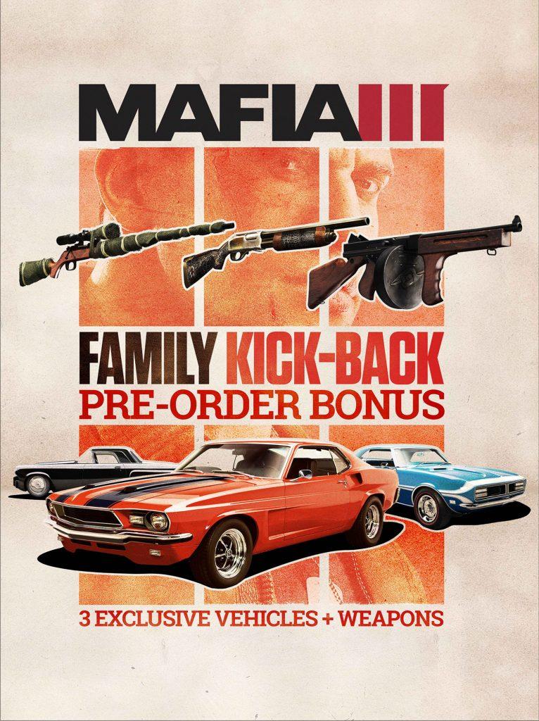 Mafia 3 PreOrder édition