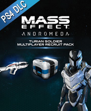 Mass Effect Andromeda Turian Soldier MP Recruit Pack