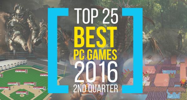 Les meilleurs jeux pc de 2016