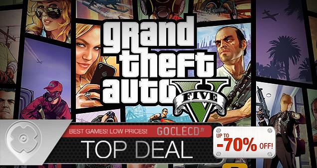 Meilleur prix GTA 5 moins cher