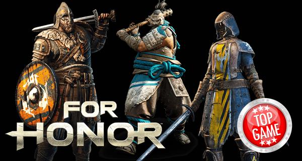 For Honor héros