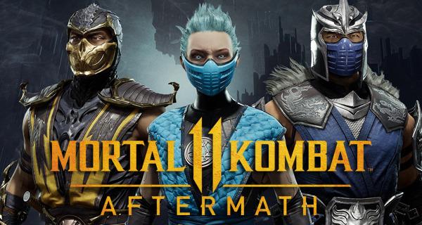 Mortal Kombat 11: Aftermath Story Mode
