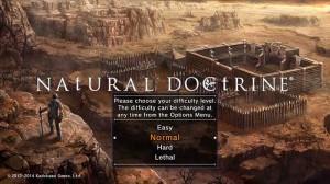 Natural Doctrine  Mode de difficulté