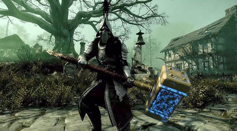 Ancient War Hammer