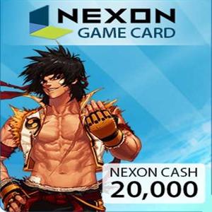 Acheter Nexon 20000 NXCash Points Gamecard Code Comparateur Prix