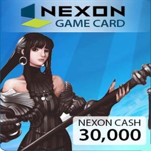 Acheter Nexon 30000 NXCash Points Gamecard Code Comparateur Prix