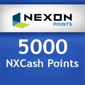 Acheter Nexon 5000 NXCash Points Gamecard Code Comparateur Prix