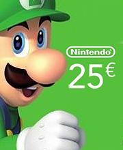 Nintendo eShop 25 Euro