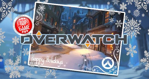 Vous êtes invités à l'Évènement de Noël Overwatch !