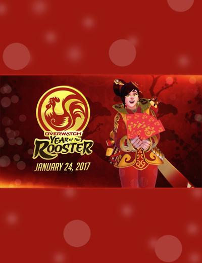 Cochez la date pour l'évènement de l'Année pour le nouvel an chinois Overwatch !