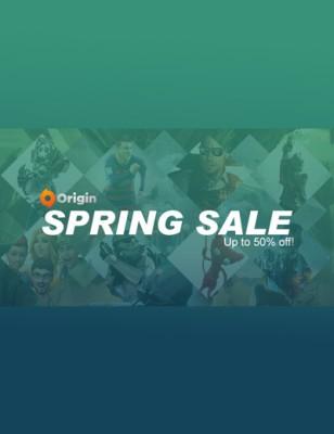 Spring Sale 2016 pour Origin : Grosses remises sur les meilleurs jeux Origin !