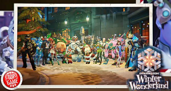 Overwatch Winter Wonderland Cover