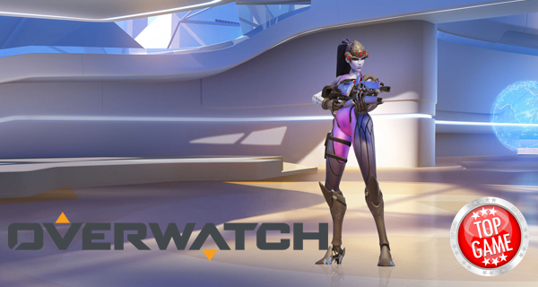Overwatch animation Widowmaker