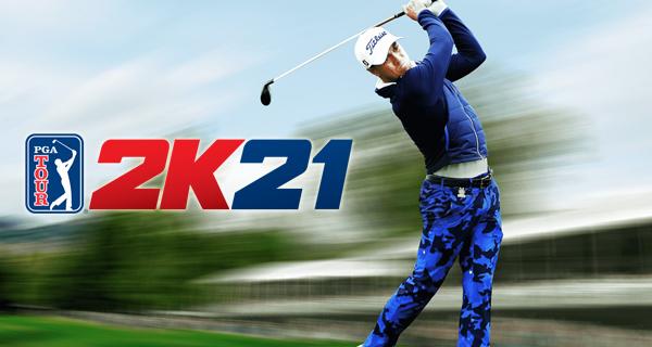 Annonce de la liste des golfeurs licenciés du PGA Tour 2K21