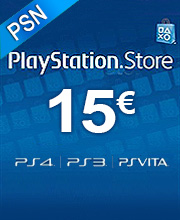15 Euros Playstation Network