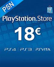 18 Euros Playstation Network
