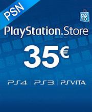 35 Euros Playstation Network