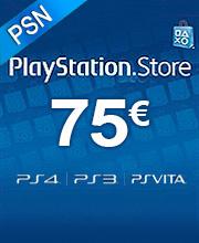 75 Euros Playstation Network