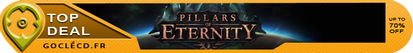 Pillars of Eternity moins cher