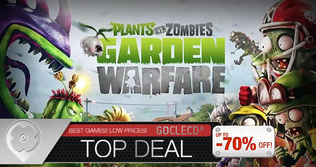 Plants VS Zombie Garden Warfare pas cher