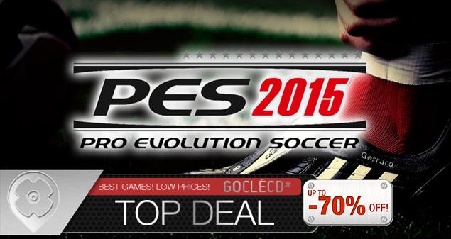 Pro Evolution Soccer 2015 pas cher