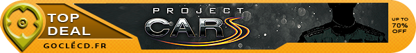 Project Cars moins cher