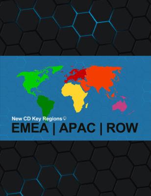 Nouvelles régions de Clé CD : EMEA, APAC, et RoW