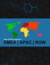 régions de Clé CD EMEA, APAC, et RoW