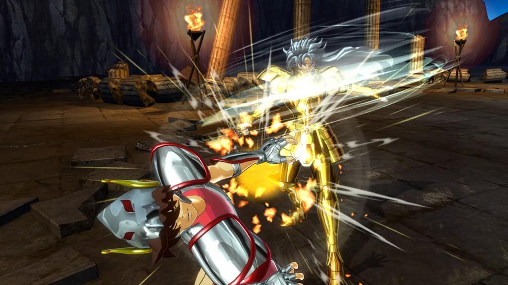 Saint Seiya sur Steam et PS4