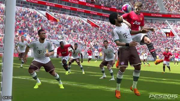 Screenshot PES 2015