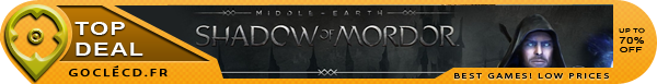 Shadow of Mordor pas cher