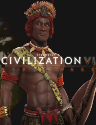 Shaka mène les Zoulous au combat dans Civilization 6 Rise and Fall