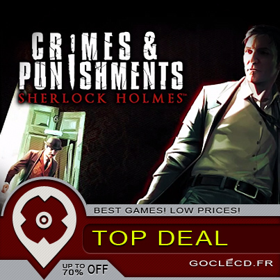 Sherlock Holmes Crimes & Punishments, un peu trop facile.