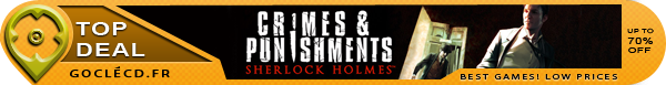 Sherlock Holmes Crimes & Punishments moins cher