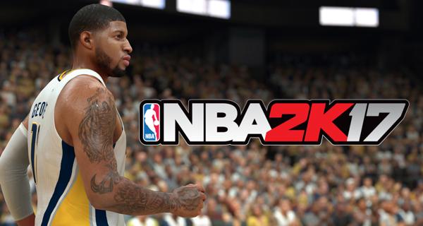 NBA 2k17 découverte des sons