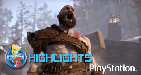 Sony Playstation E3 2016 le résumé