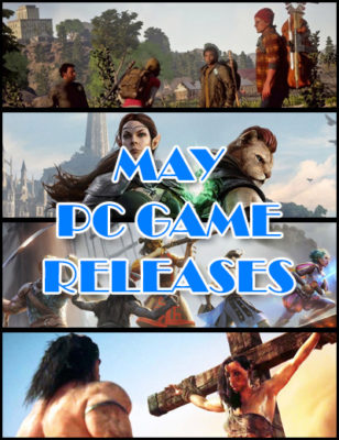 Sorties de Jeux PC de Mai 2018