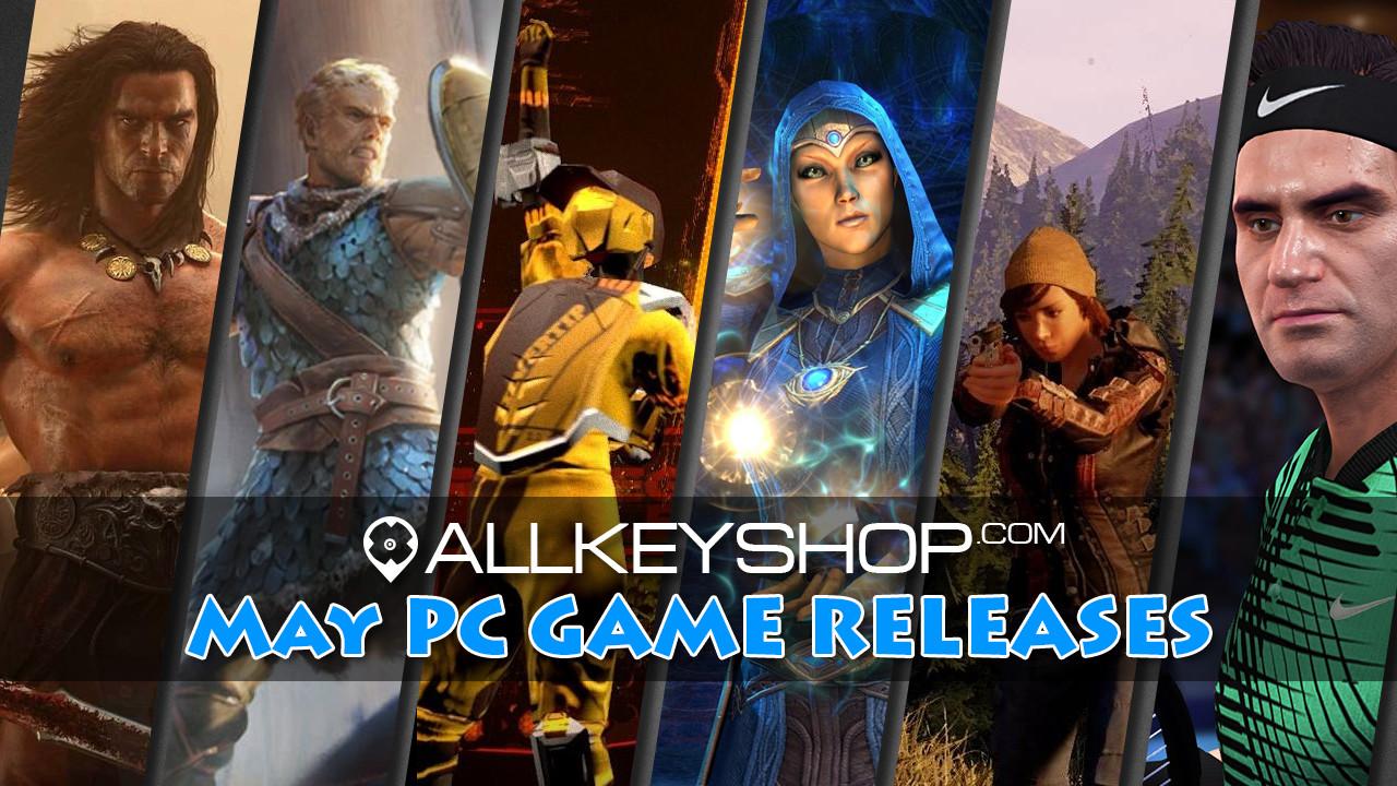Jeux PC de Mai 2018