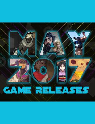 Sorties de jeux de mai 2017