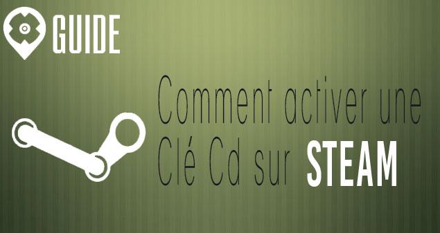 Activation clé Steam