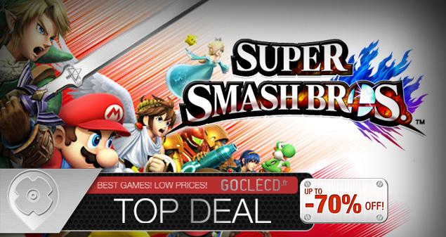 Super Smash bros moins cher