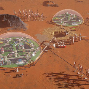 Surviving Mars - construction d