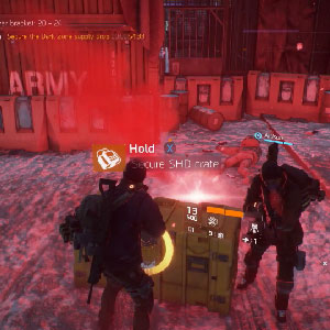 The Division PS4 Gameplay Carte