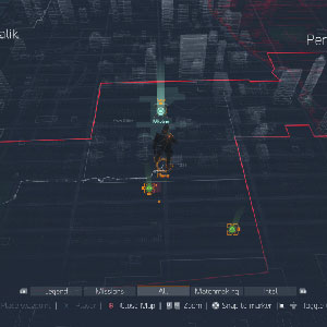 The Division Xbox One Gameplay Carte