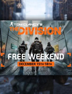 Jouez à The Division gratuitement sur PC ce week-end !