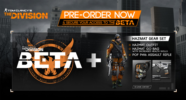 Tom Clancy's The Division bêta