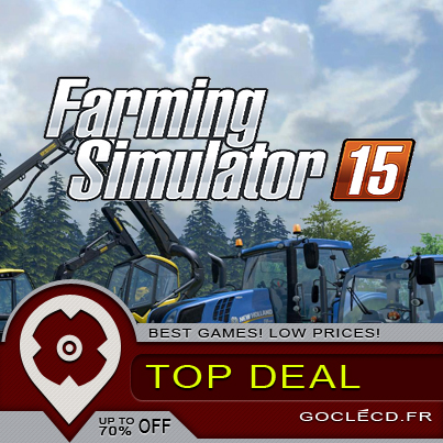 Farming Simulator 15 enfin disponible