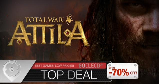 Total War Attila pas cher
