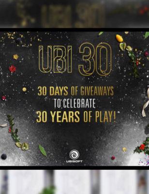 Les 30 Jours Cadeaux Ubisoft : Des choses gratuites jusqu'à Noël !