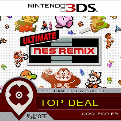 Ultimate NES Remix 3DS : Bien inférieur à la version Wii U